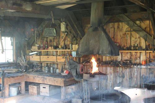 blacksmith shop workshop