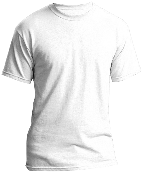 blank t shirts white