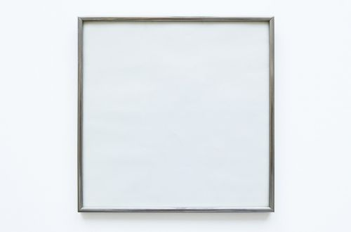 blank empty picture frame