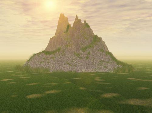 Blank Scenery Background