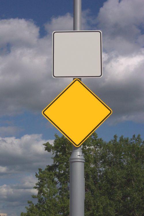 ženklas, ženklai, pranešimas, Yedid, įspėjimas, tuščias, tuščias ženklas paštu