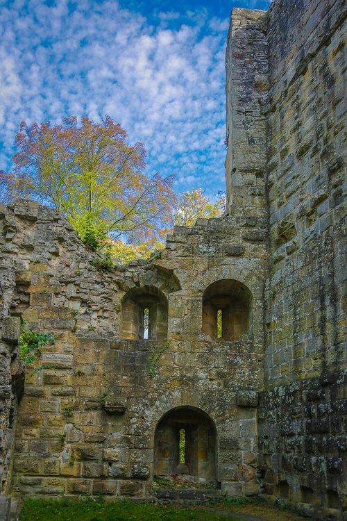 blankenhorn  burgruine  castle