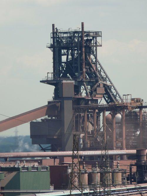 blast furnace industry duisburg
