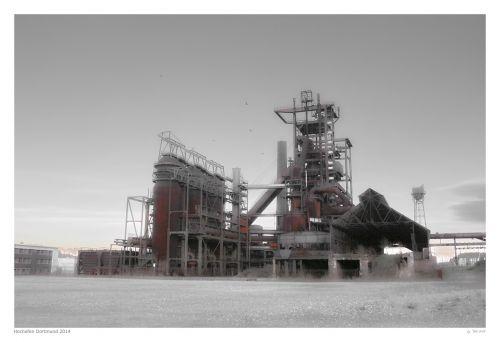 blast furnace steel mill dortmund