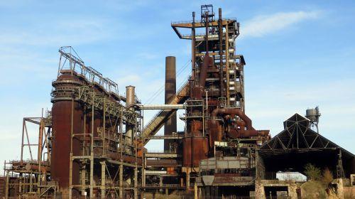 blast furnace industry industrial heritage