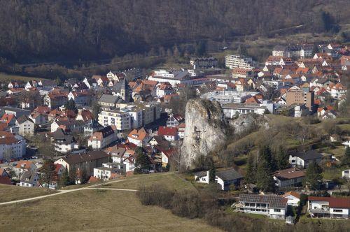 blaubeuren village swabian alb