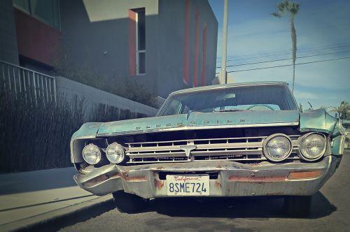 bleached california junk car