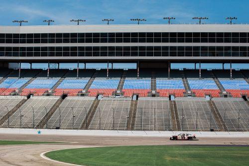 bleachers grandstand race car