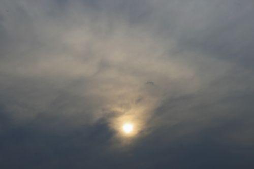 Bleak Sun In Clouds