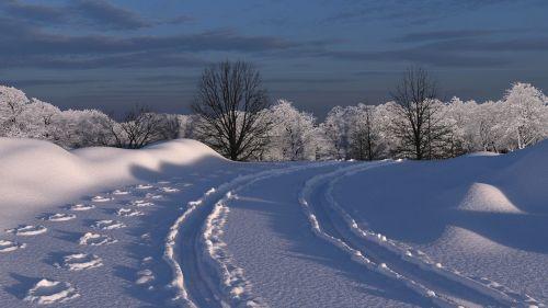 blender snow auto