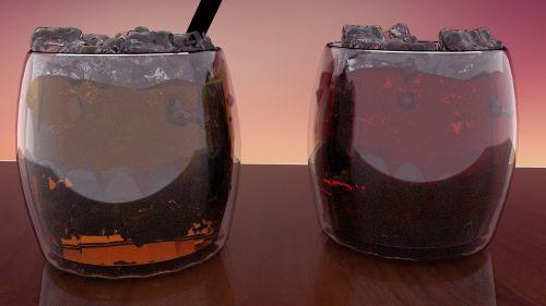 blender 3d liquor