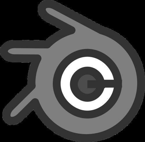 blender spinning icon