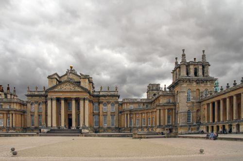 blenheim palace castle world heritage
