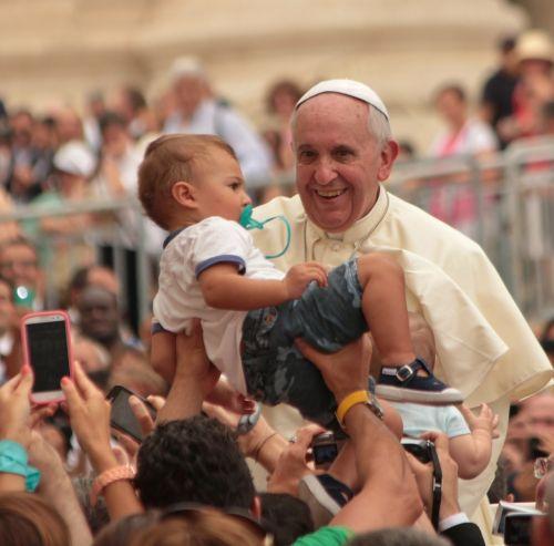 blessing of children pope religion