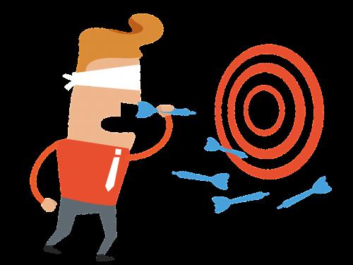 blind target aim