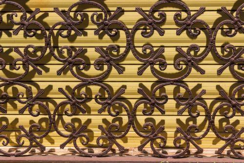 blinds metal pattern