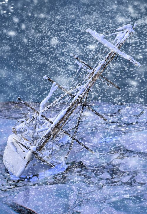 blizzard ship capsize