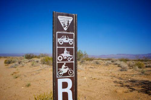 BLM Bureau Of Land Management Sign