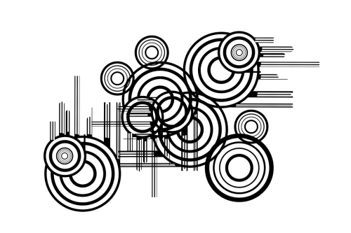 blob rings circle