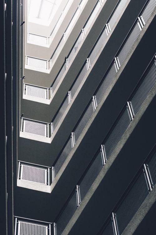 block of flats building flat