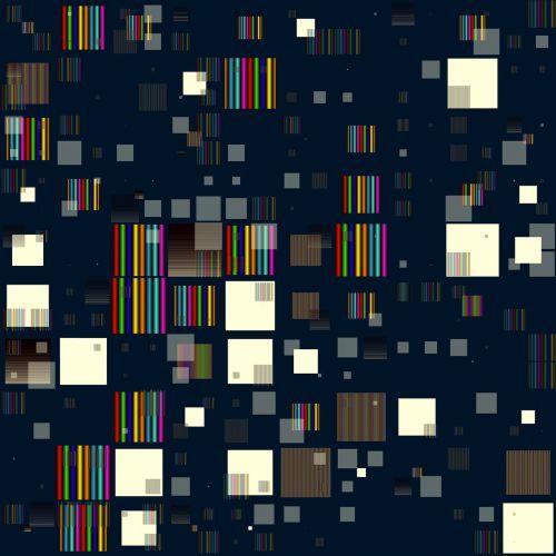 blocks pattern rainbow