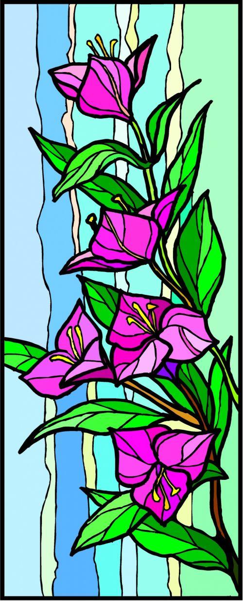 fonas, apdaila, ornamentu, spalva, kūrybingas, modelis, tapetai, iliustracija, gėlės, fantazija, gėlių fantazija