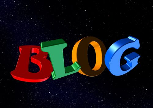 blog letters word