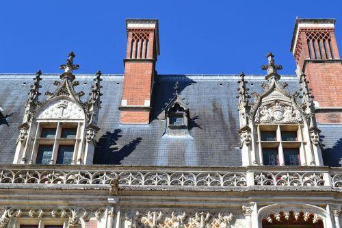 blois castle roof