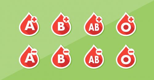 blood blood type list