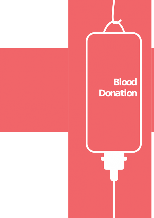 blood donation campaign poster
