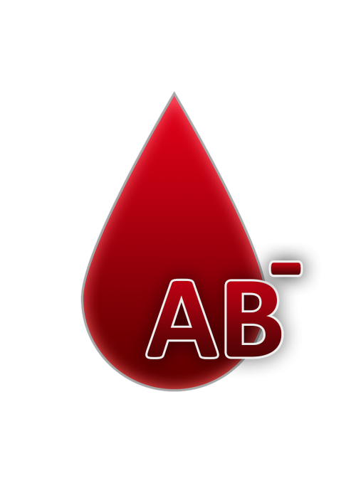 blood group ab rh factor negative