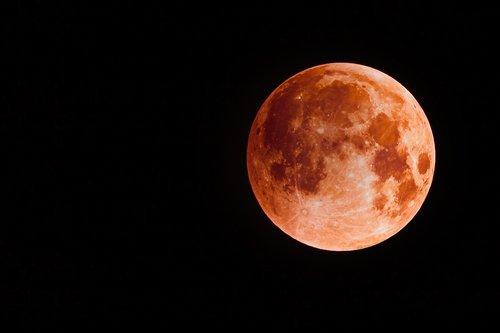 blood moon  full moon  moon