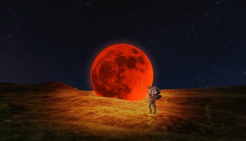 bloodmoon  moon  creativity