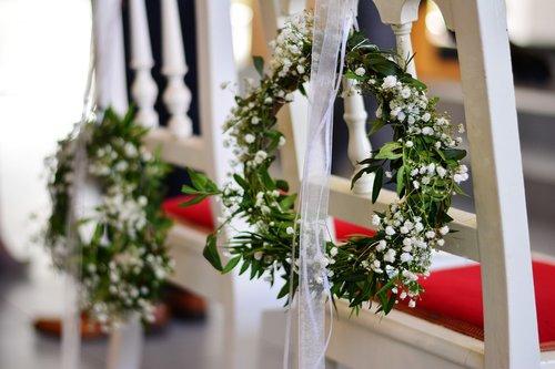 blossoming wreath  wreath  loop