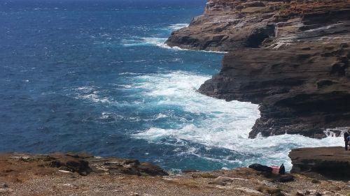 blow hole hawaii blow hole coastline