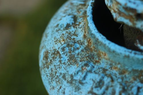 blue hydrant water
