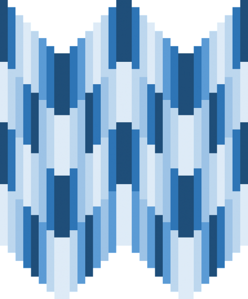 blue shades hues