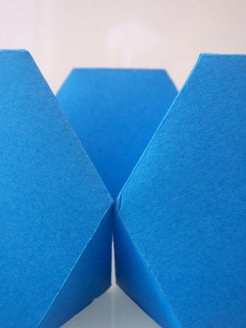 blue geometry design
