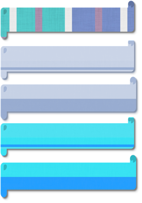 blue shades patterns