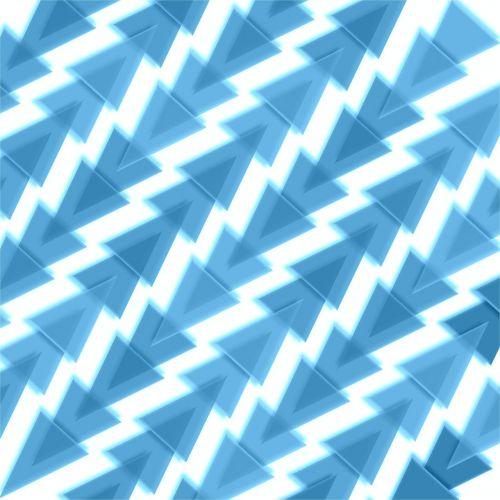blue white 3d
