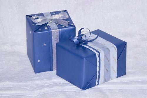 blue gift present