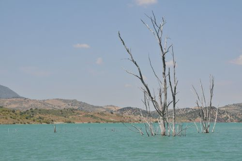 blue lake water
