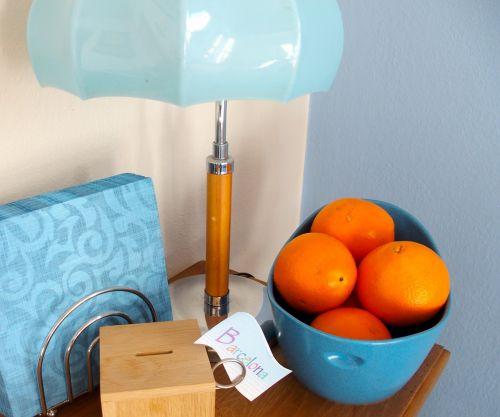 blue orange light