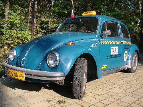 mėlynas,vw,vabalas,vabalas,taksi,automobilis,retro