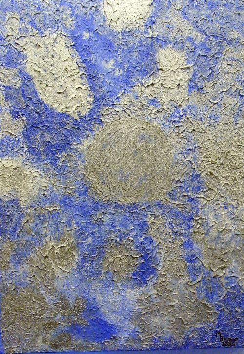 blue silver color