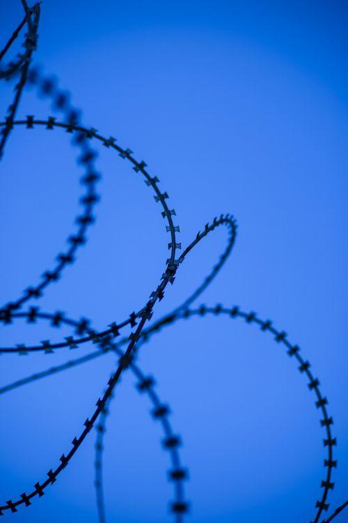 blue wire prison