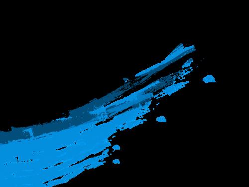blue brush vector