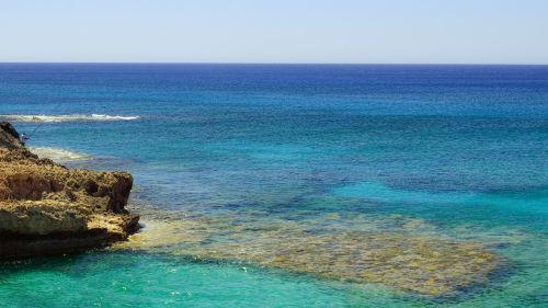 blue shades sea
