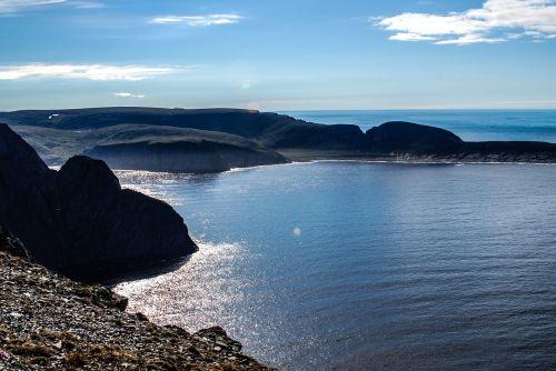 blue sea the norwegian sea