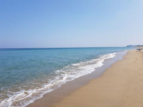 blue emerald sea